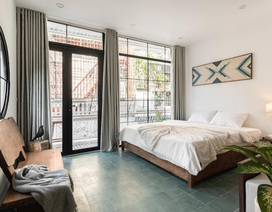 """Nhà phố cổ cũ kỹ ở Hà Nội """"lột xác"""" bất ngờ như khách sạn sau khi cải tạo"""
