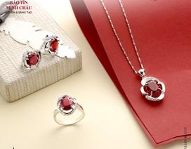 Đá Garnet - Thạch lựu đỏ hồng cho khởi đầu năm mới may mắn hy vọng