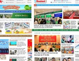 Hà Nội dừng hoạt động 9 tờ báo, tạp chí