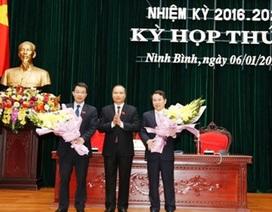 Giám đốc Sở Nội vụ và Bí thư huyện được bầu làm Phó Chủ tịch HĐND Ninh Bình
