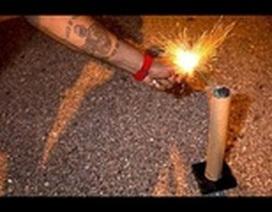 Đốt pháo hoa trong đêm giao thừa có vi phạm pháp luật hay không?