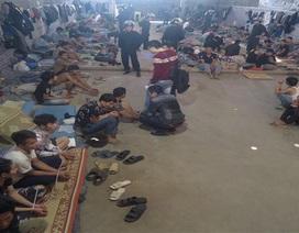 Triệt phá nhóm cửu vạn nghiện ma túy lộng hành đường biên giới