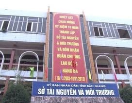"""Hài hước cách đánh giá cán bộ liên quan các vụ """"bê bối"""" tại Sở Tài nguyên Bắc Giang!"""