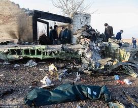 Hiện trường thảm kịch rơi máy bay khiến 176 người chết ở Iran
