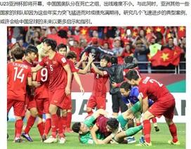 Báo Trung Quốc bày tỏ sự ngưỡng mộ với bóng đá Việt Nam