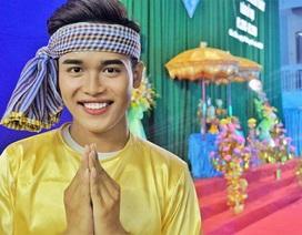 """Vượt khó vươn lên, nam sinh Khmer giành giải thưởng """"Sao tháng Giêng"""" 2019"""