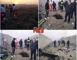 Rơi máy bay ở Iran, toàn bộ 176 người thiệt mạng