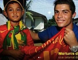 Nạn nhân sóng thần mời C.Ronaldo đến dự đám cưới