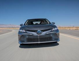Triệu hồi Toyota Camry vì khoá dây đai an toàn bị lỗi