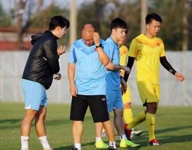 U23 Việt Nam đấu U23 UAE: Chờ HLV Park Hang Seo tung chiêu độc