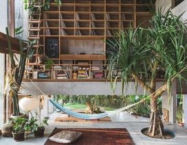Mê mệt ngôi nhà nhiệt đới như một khu vườn xanh ở đảo Bali xinh đẹp