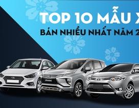 Top 10 xe bán nhiều nhất Việt Nam năm 2019: Mitsubishi Xpander vượt Toyota Innova