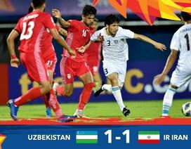 U23 Uzbekistan 1-1 U23 Iran: Chia điểm xứng đáng