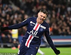 PSG 6-1 Saint-Etienne: Icardi lần đầu lập hat-trick