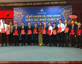 Trường ĐH Bách khoa TPHCM vinh danh 15 giáo sư, phó giáo sư năm 2019