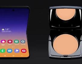 Galaxy Fold 2 có tên gọi là Galaxy Bloom, lấy cảm hứng từ hộp phấn trang điểm