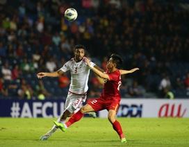 U23 Việt Nam hoà U23 UAE: Báo động hàng công