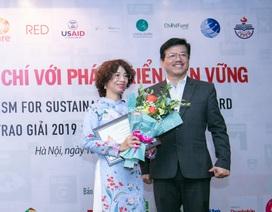 Báo Dân trí đạt giảiBáo chí với phát triển bền vững 2019