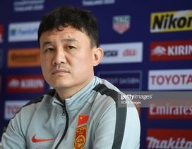 HLV U23 Trung Quốc tiếc cho thất bại trước U23 Hàn Quốc