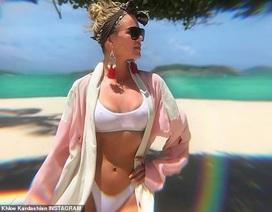 Khloe Kardashian bị chỉ trích khi quảng cáo đồ uống giảm cân