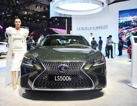 Lexus LS 500h phiên bản đặc biệt 2020 chào khách hàng Việt