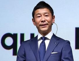 Tỷ phú công nghệ Nhật tặng 9 triệu USD cho những người theo dõi Twitter của mình