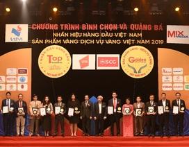 VNG nhận giải thưởng Top 20 Nhãn hiệu hàng đầu Việt Nam