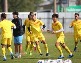 """Chờ quyết đấu U23 Jordan, U23 Việt Nam """"đóng cửa"""" luyện công"""