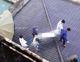 Phát hiện thi thể bệnh nhân trên mái nhà bệnh viện