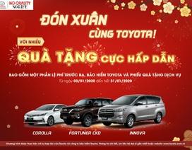 """Toyota Việt Nam khuyến mãi """"khủng"""" cho 3 dòng xe CKD"""