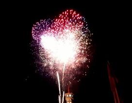Cà Mau bắn pháo hoa tại 5 điểm đón năm mới