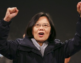 Lãnh đạo Đài Loan Thái Anh Văn giành chiến thắng áp đảo trong bầu cử