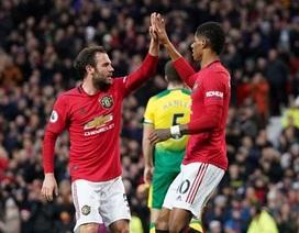 Man Utd 4-0 Norwich: Rashford, Martial và Greenwood đều góp công
