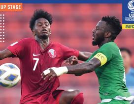 U23 Saudi Arabia 0-0 U23 Qatar: Thiếu bàn thắng, thừa thẻ vàng