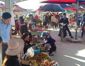 Chợ phiên cuối tuần trên vùng biên Cao Nguyên