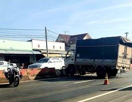 Khen thưởng CSGT truy bắt tên trộm xe tải sau 20km bỏ chạy