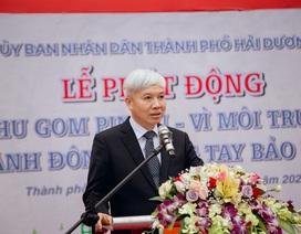 """Thành phố Hải Dương: Lễ phát động phong trào """"Thu gom pin cũ, vì môi trường tương lai"""""""