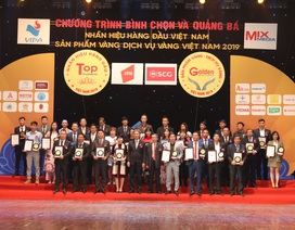 Tingco vinh dự xếp trong Top 50 Nhãn hiệu hàng đầu Việt Nam năm 2019