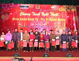 Ấm tình Xuân đêm giao lưu ủng hộ dân nghèo Hà Tĩnh đón Tết
