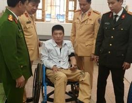 Vi phạm tốc độ, lao xe thẳng vào tổ CSGT khiến một chiến sĩ bị thương