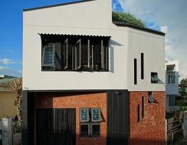 """Ngôi nhà Đà Nẵng xây trên đất méo nhưng """"đẹp không góc chết"""" nhờ thiết kế lạ"""