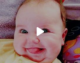 Những phản ứng của bé khiến người lớn không thể nhịn cười
