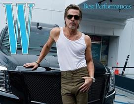Brad Pitt có nụ hôn đầu năm... lớp 4