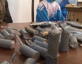Học cách chế tạo pháo trên Youtube, nam sinh lớp 7 bị nổ bỏng mặt