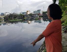 Hồ điều tiết giữa lòng thành phố Đà Nẵng ô nhiễm trầm trọng