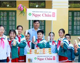Nhãn hàng Ngọc Châu liên tục nâng cao kiến thức, hỗ trợ mô hình Nha học đường tại các điểm trường