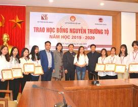 20 sinh viên tiêu biểu tiếp tục nhận học bổng Nguyễn Trường Tộ