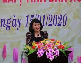 Phó Chủ tịch nước Đặng Thị Ngọc Thịnh chúc Tết tại tỉnh Đắk Nông
