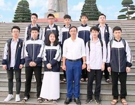Nghệ An giành 13 giải Nhất tại kỳ thi chọn học sinh giỏi quốc gia