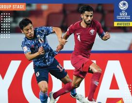 Hòa U23 Nhật Bản, U23 Qatar chia tay giải U23 châu Á